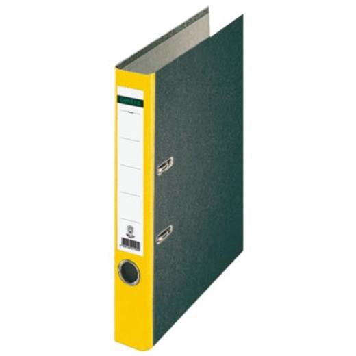 Centra® Standard Ordner 50mm mit Farbigem Rücken, Gelb