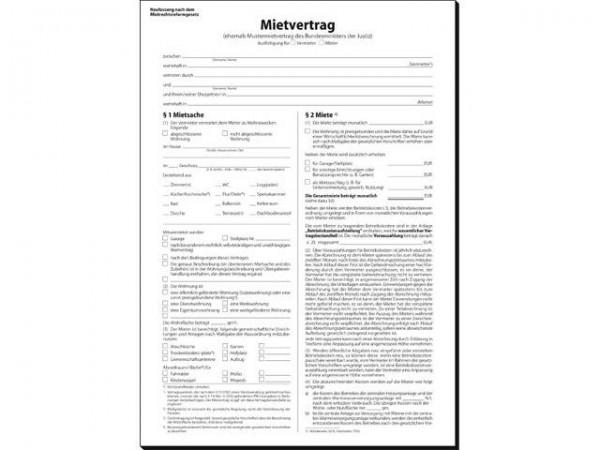 Muster-Mietvertrag 6Seiti Mv469 A4 Lt Bundesministe