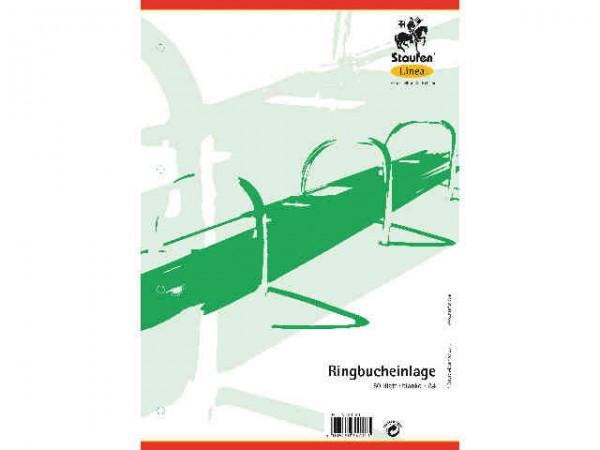 Ringbuch-Einlage A4 50Bl kariert Linea