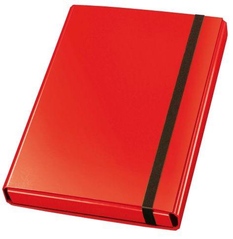 Dokumentenbox, Sammelbox VELOCOLOR®, Karton, A4, 230 x 320 x 40 mm, 40 mm, rot