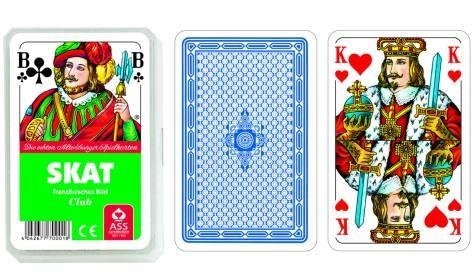 Kartenspiel Skat französisch Bild 32 Blatt