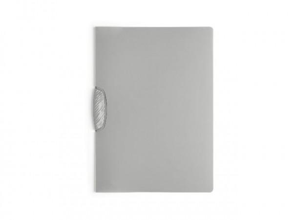 Klemm-Mappe Swingclip A4 30Bl transluzent grau