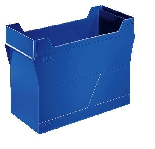 Hängemappenbox Uni-Box Plus, für Hängemappen A4, Polystyrol, blau