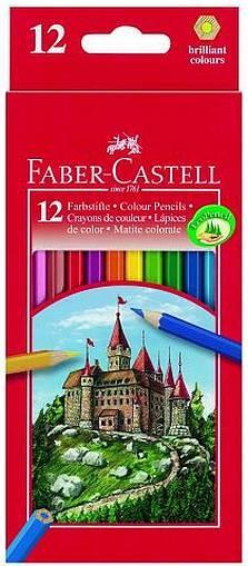 Farbstifte Castle 12er- Pappetui Burgmotiv 111212