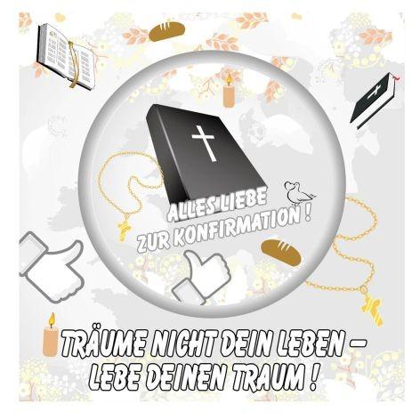 Sticker 6 Stück Konfirmation