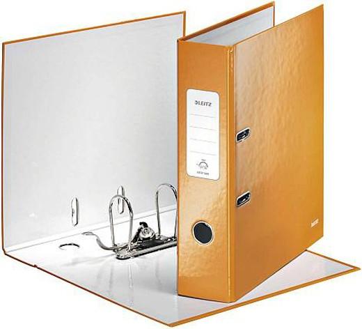 Leitz Ordner WOW, A4, breit, orange metallic - Qualitäts-Ordner von Leitz