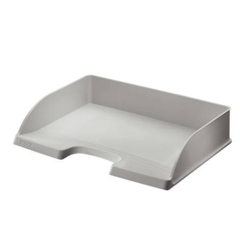 Briefkorb Standard Plus, A4 quer, Polystyrol, grau