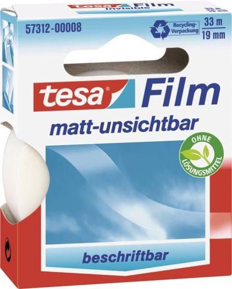 Tesa-Matt Unsichtbar 33mx19mm Dokufilm