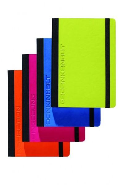 Notizbuch blanko A5 Trend Colours 192 Seiten