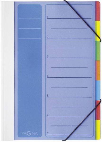 Deskorganizer PP 1-7 Lucy Colours blau