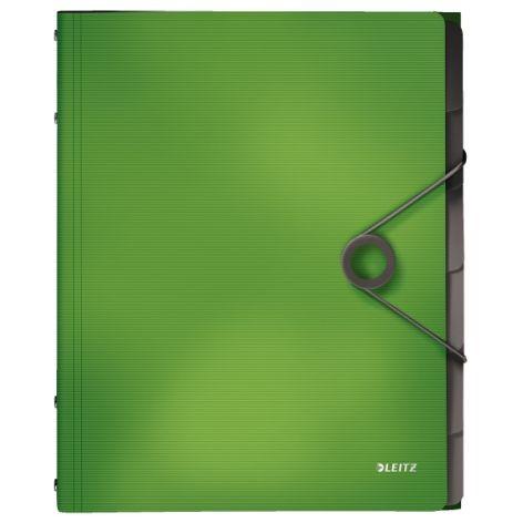Ordnungs-Mappe 6-Fächer A4 Solid hellgrün
