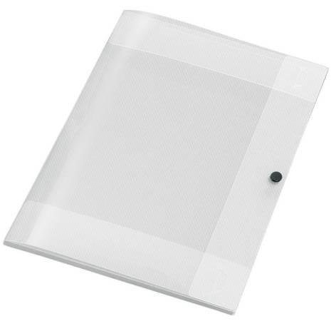 Sammelmappe, Crystal, PP, A4, 8 mm, transparent, Streifenoptik