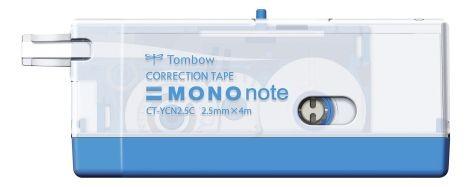Korrekturroller Mono Note 4mx2,5mm Einweg blau